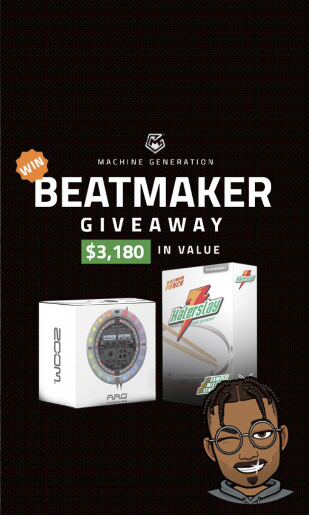 HaterSlay Beat Quencher Beatmaker Giveaway